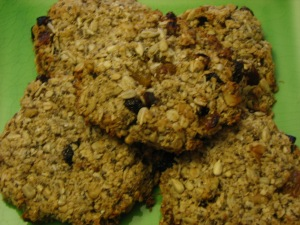 fruit and nut breakfast cookies